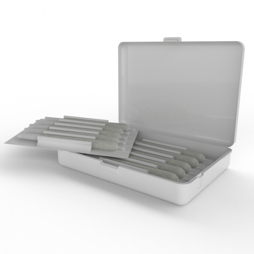 Cannasupplies Crativ CR Case for Prerolls, vape, edibles, concentrates, etc.