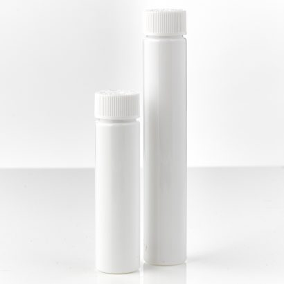 Child-Resistant tubes with lug caps