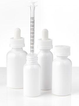 Oil Bottle with 1 mL Dosing Syringe