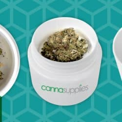 Introducing Cannasupplies' latest innovation in child-resistant packaging: The Shallow Jar