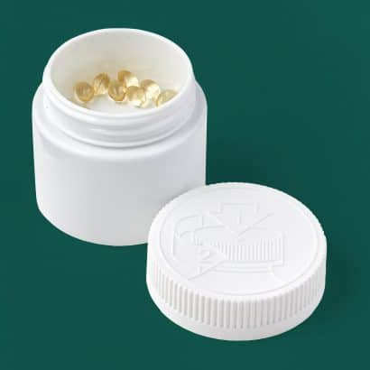 1 gram double shell - small format capsules