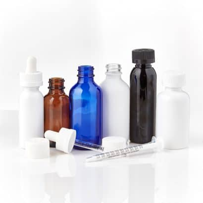 Cannasupplies oil bottles