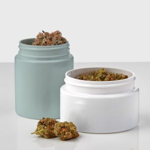 Cannasupplies PET child resistant jars for dried flower