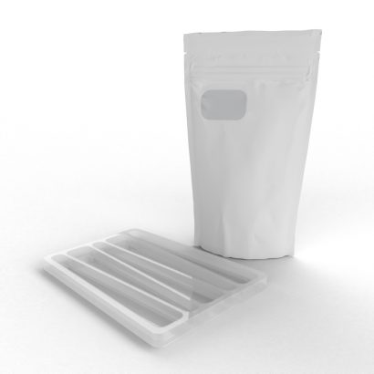 Cannasupplies CR Pouch with Insert to protect PreRolls