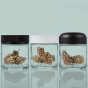 Glass Jars with compatible CR closures