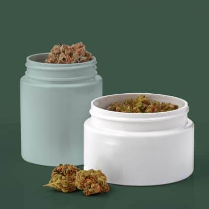 Cannasupplies dried flower jars