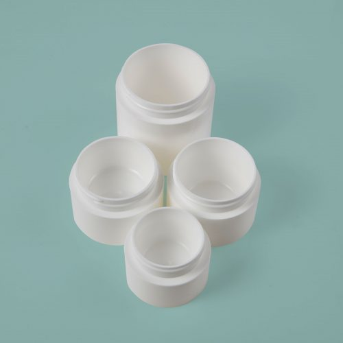Double Walled Plastic Jars