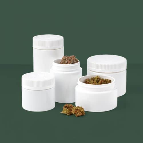 PET Straight Walled Dried Flower Jars