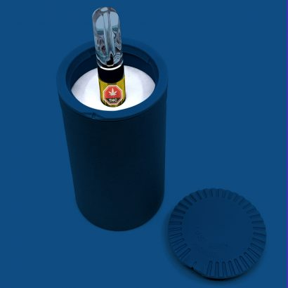 Paper Tube with foam insert for a vape cart
