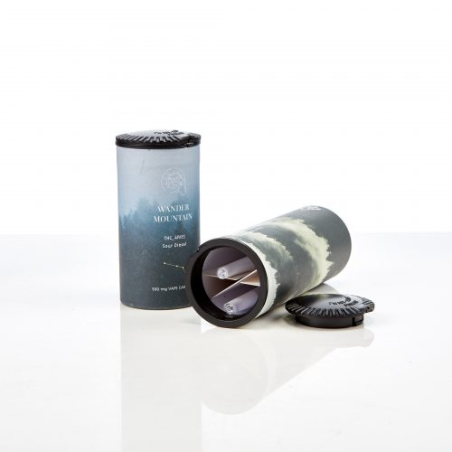 Paper tube with preroll insert