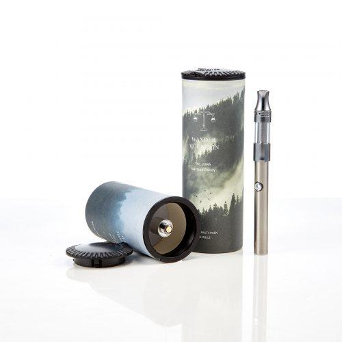 Paper tube with foam insert for vape pen