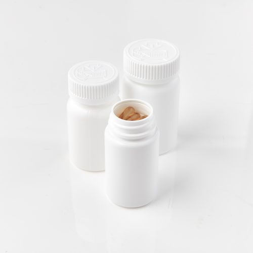 Round Packer Bottles for Capsules
