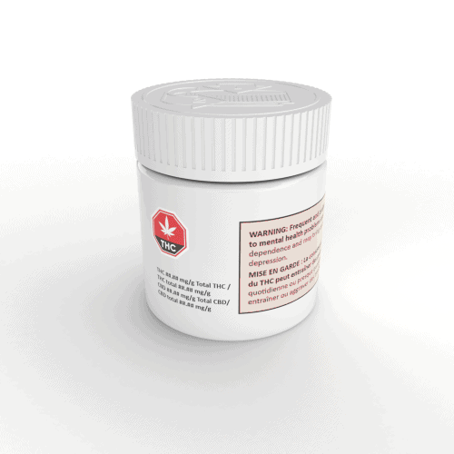 Cannasupplies Child-Resistant jar and compatible closure