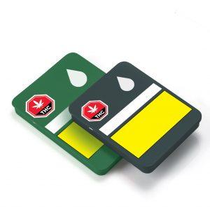 Cannasupplies CR Sliding Tin, with Label Mockup