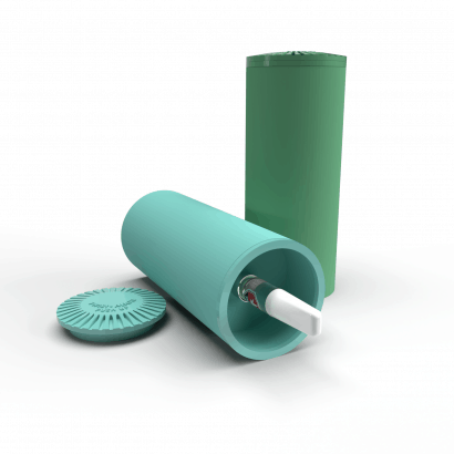 Child Resistant Paper Tube Packaging, Ideal for Vape Carts