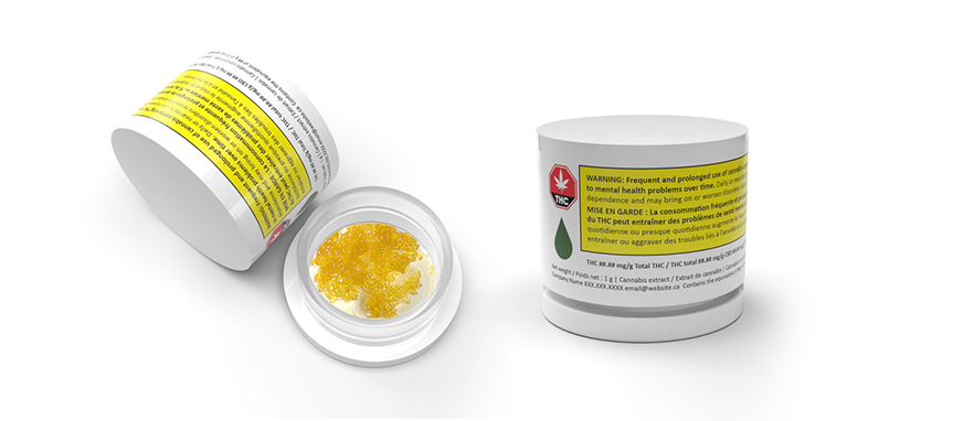 Introducing the first regulatory compliant solution for concentrates in the Canadian Cannabis Market