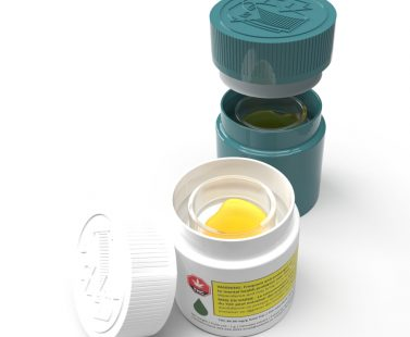 Cannasupplies-CanDab9 Canadian Concentrate Jar ideal for Concentrated Extracts