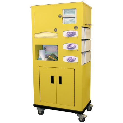 Mobile PPE Cart