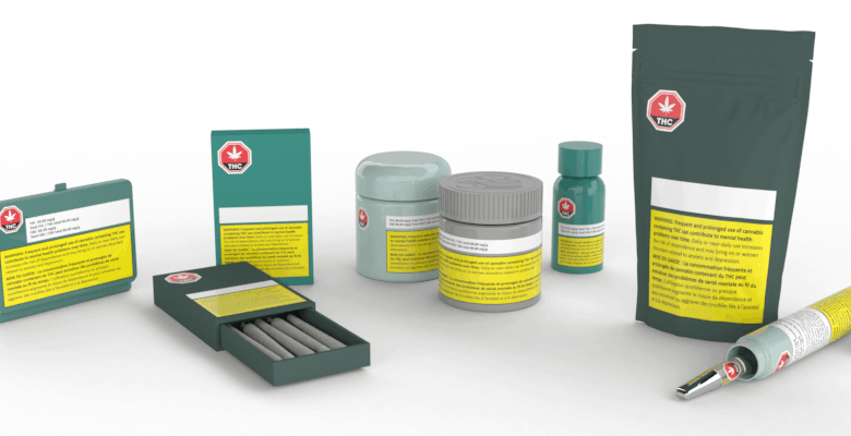 Cannasupplies custom-coloured packaging solutions with Compliant labelling