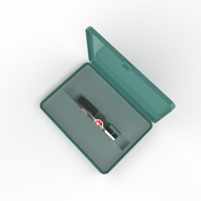 Custom insert designed to secure and protect your product inside our child-resistant cases