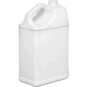 Large format HDPE jug, ideal for large batch storage and transport.