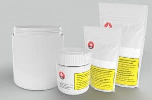 Large format Cannabis Packaging, ideal for Value Brands