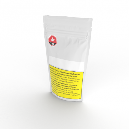 Child-Resistant Pouch Packaging, available with custom printing