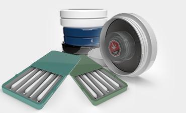 Cannasupplies Child-Resistant Tins