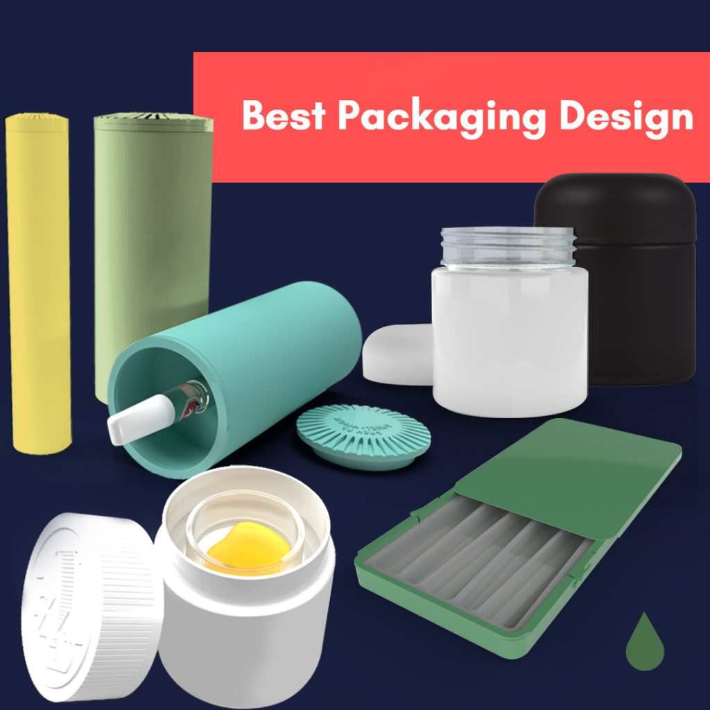 Cannasupplies child-resistant packaging formats nominated for best packaging design, 2020 ADCANN Awards