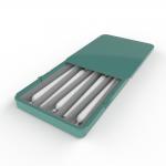Cannasupplies child resistant sliding tin, preroll insert