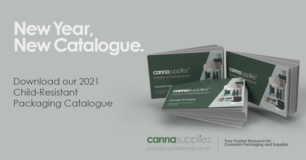Cannasupplies Child-Resistant Packaging Catalogue January 2021