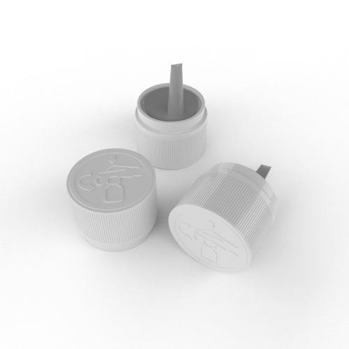 Cannasupplies Oil Cap with Integrated Dosing Plug