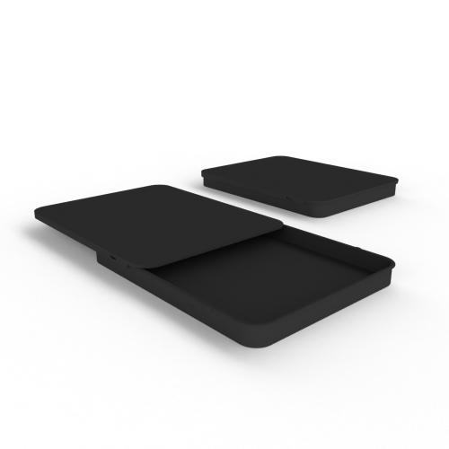 Cannasupplies Stock Black CR Sliding Tin