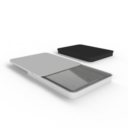 Cannasupplies Stock CR Sliding Tin with Open Cavity Plastic Insert