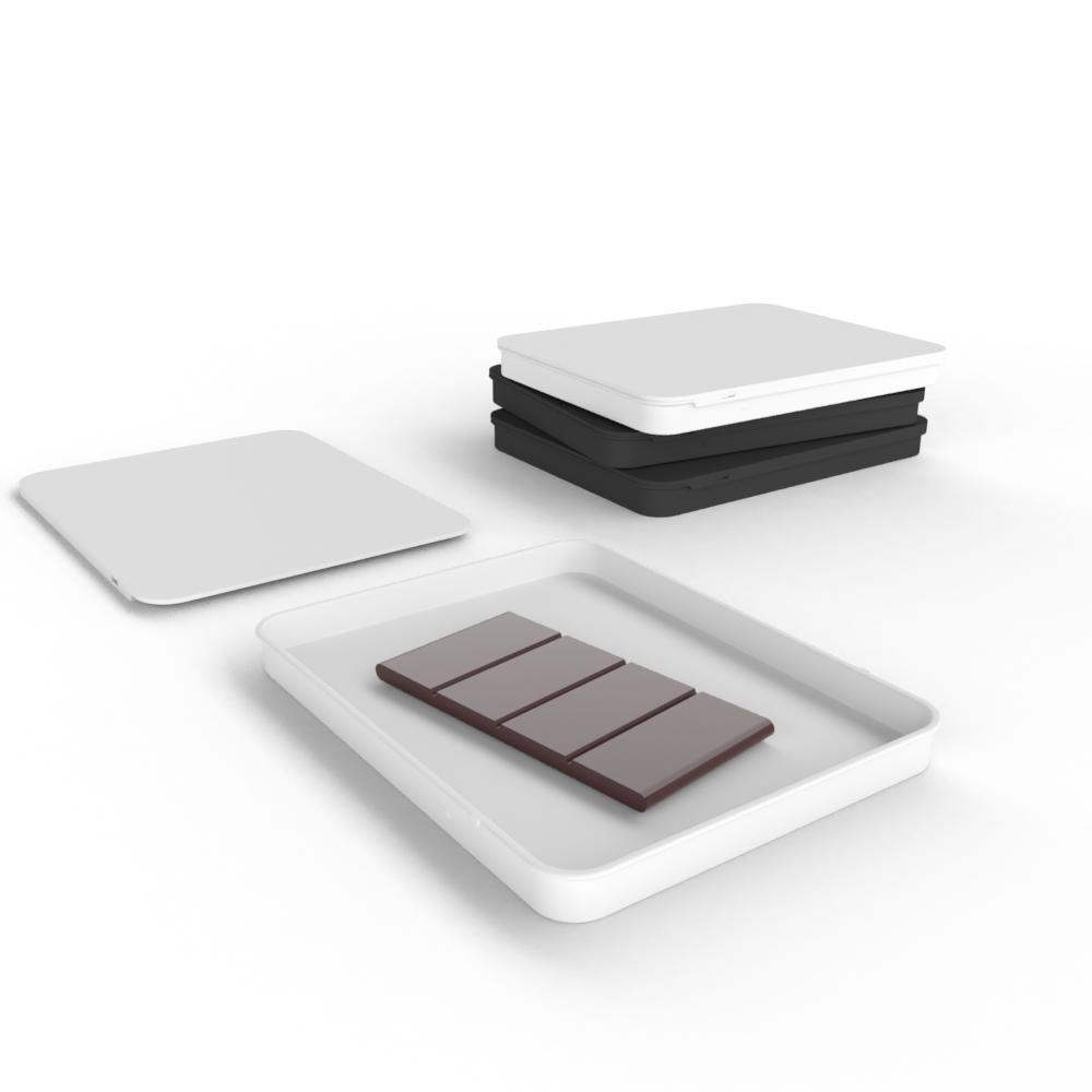 Cannasupplies CR sliding tins for edibles: chocolate, gummies or mints