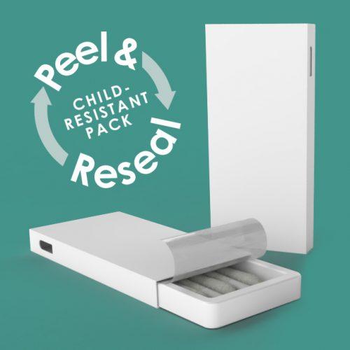 Cannasupplies Exclusive Peel & ReSeal Child-Resistant Pack